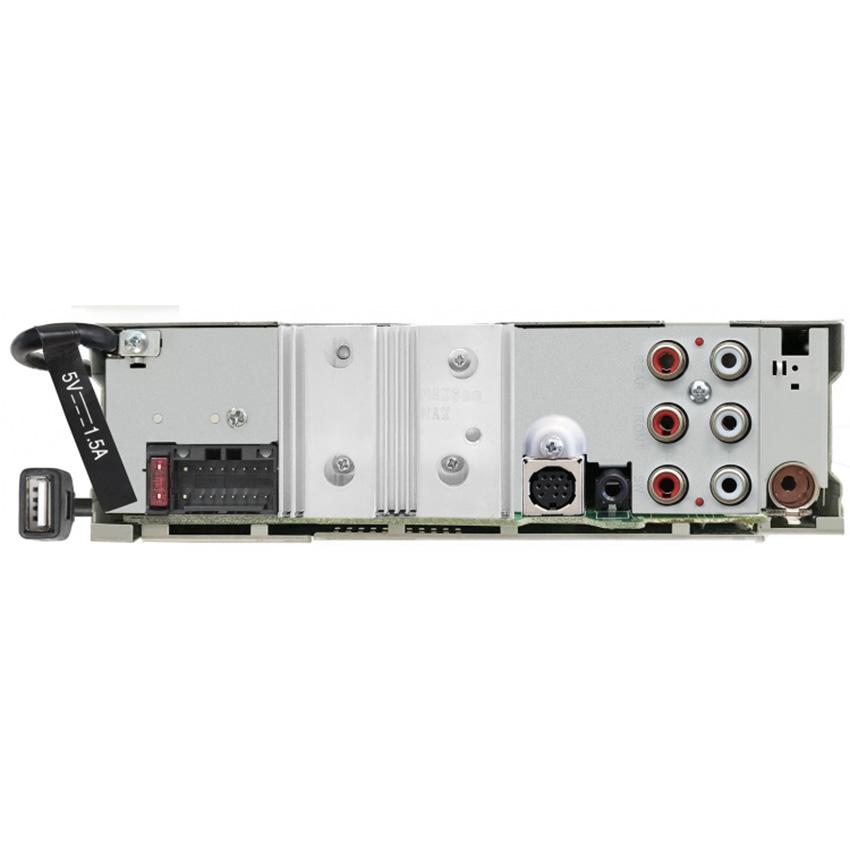 JVC KD-T915BTS AUX Alexa SirusXM Ready CD Receiver Featuring Bluetooth Front /& Rear USB